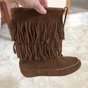 Minnetonka Moccasin boots!